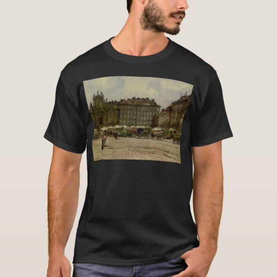 Hof Church in Vienna by Rudolf von Alt T-Shirt