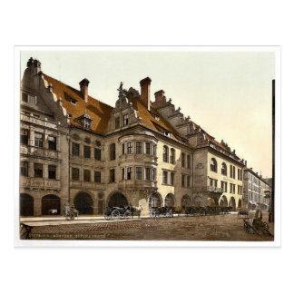 Hofbrauhaus, Munich, Bavaria, Germany classic Phot Postcard