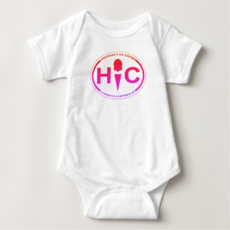 Hoffman's Oval Logo Baby Bodysuit