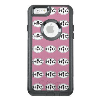 Hoffman's Oval Logo iPhone Otterbox Case Pink