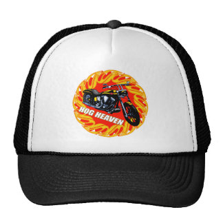 Hog Heaven Biker T shirts Gifts Cap