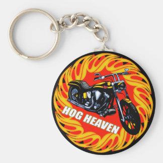 Hog Heaven Keychain