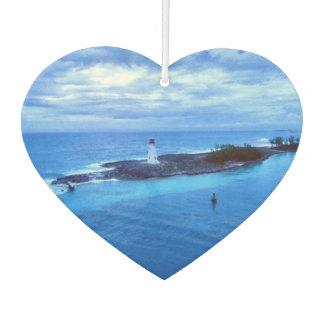 Hog Island Light Heart Shaped