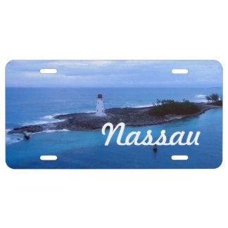 Hog Island Light License Plate