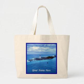 Hog Island Light Personalized Lt Jumbo Tote Bag