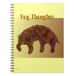 Hog Thoughts Notebook