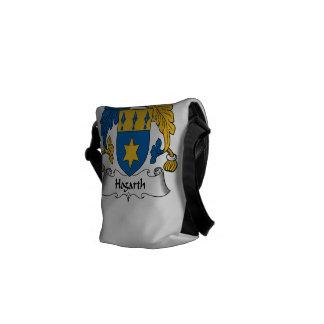 Hogarth Family Crest Courier Bag