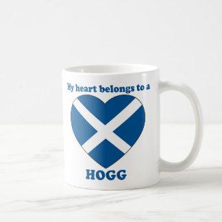 Hogg Basic White Mug