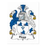 Hogg Family Crest Postcard