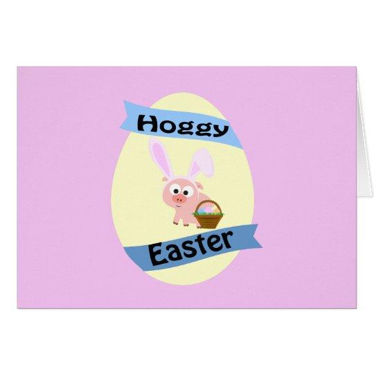 Hoggy Easter! Card