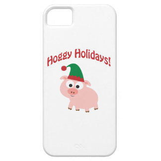 Hoggy Holidays! Elf Pig iPhone 5 Cover