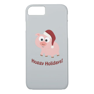 Hoggy Holidays! Santa Pig iPhone 7 Case