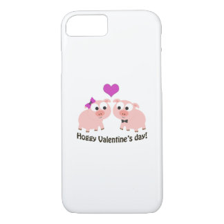 Hoggy Valentines Day Pigs iPhone 7 Case