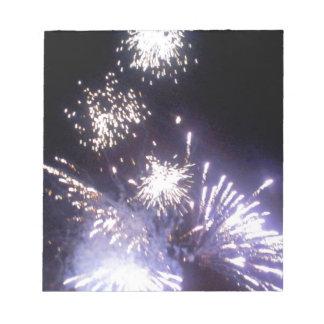Hogmanay Fireworks Notepad