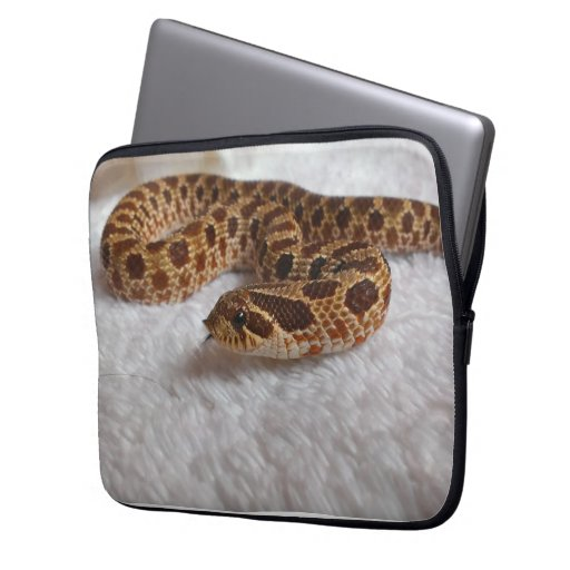 Hognose snake laptop case computer sleeve