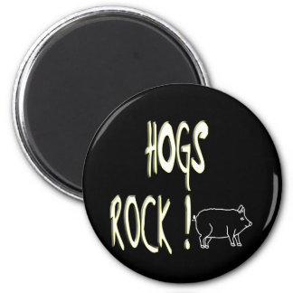 Hogs Rock! Magnet