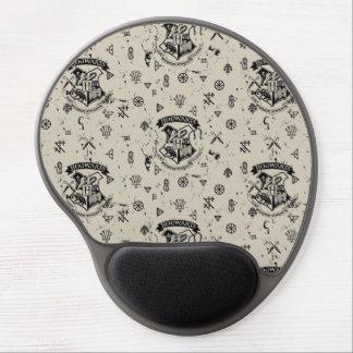 HOGWARTS™ Beige Pattern Gel Mouse Mat