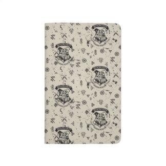 HOGWARTS™ Beige Pattern Journals