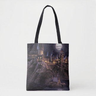 Hogwarts Boats To Castle Tote Bag