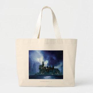 Hogwarts By Moonlight Jumbo Tote Bag