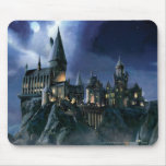 Hogwarts Castle At Night Mouse Pad