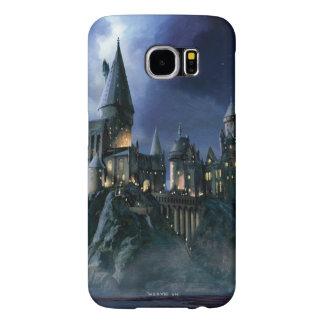 Hogwarts Castle At Night Samsung Galaxy S6 Cases