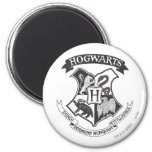 Hogwarts Crest 2 Fridge Magnets