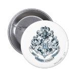 Hogwarts Crest Blue Buttons