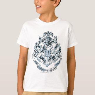 Hogwarts Crest Blue T Shirt