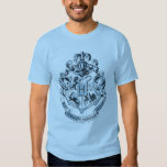 Hogwarts Crest Blue Tees