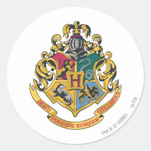 Hogwarts Crest Full Color Sticker