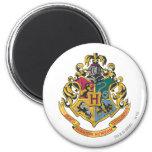 Hogwarts Crest Full Colour 6 Cm Round Magnet
