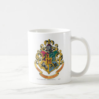Hogwarts Crest Full Colour Basic White Mug