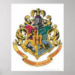 Hogwarts Crest Full Colour Poster