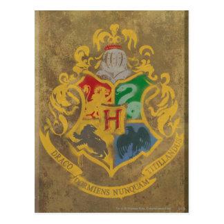 Hogwarts Crest HPE6 Postcard
