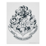 Hogwarts Crest Print
