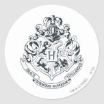 Hogwarts Crest Round Sticker