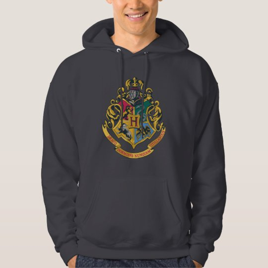 Hogwarts Four Houses Crest Hoodie