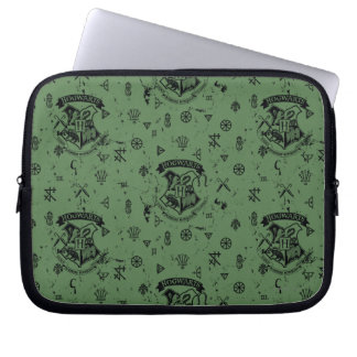 HOGWARTS™ Green Pattern Laptop Sleeve
