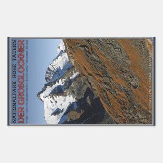 Hohe Tauern - Großglockner Rectangular Sticker