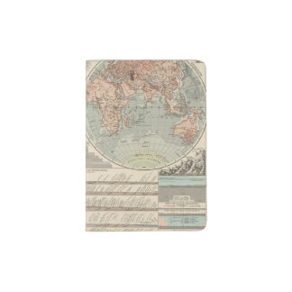 Hohen und Tiefen - Highs and Lows Atlas Map Passport Holder
