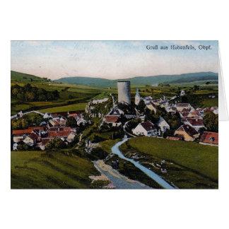 Hohenfels Castle Card