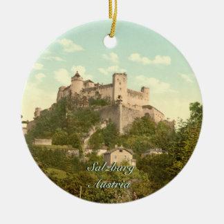 Hohensalzburg Castle II, Salzburg, Austria Christmas Ornament