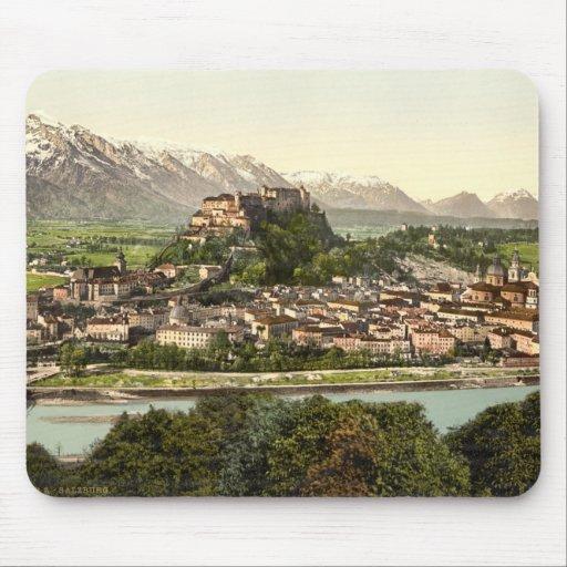 Hohensalzburg Castle, Salzburg, Austria Mouse Pad