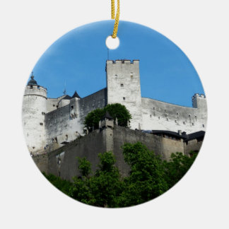 Hohensalzburg Fortress, Austria Christmas Ornament