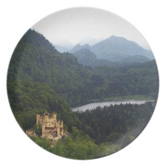 Hohenschwangau Castle Plate