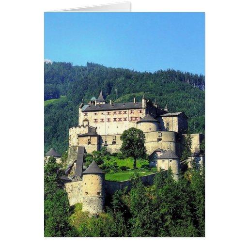 Hohenwerfen Castle Card