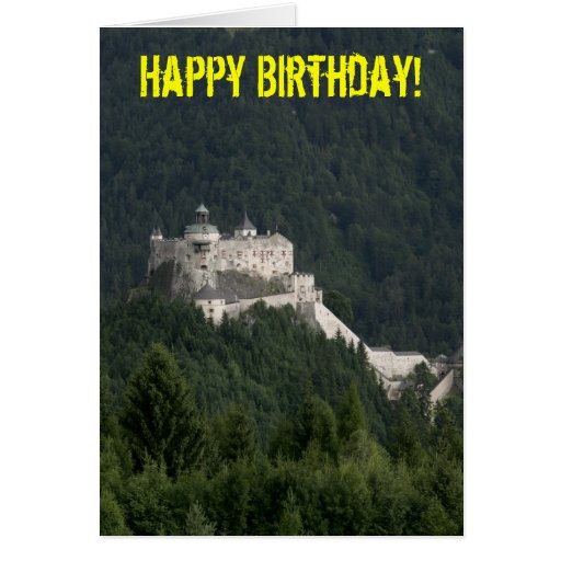 Hohenwerfen Castle Greeting Cards