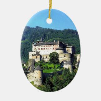 Hohenwerfen Castle Ceramic Oval Decoration