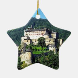 Hohenwerfen Castle Ceramic Star Decoration